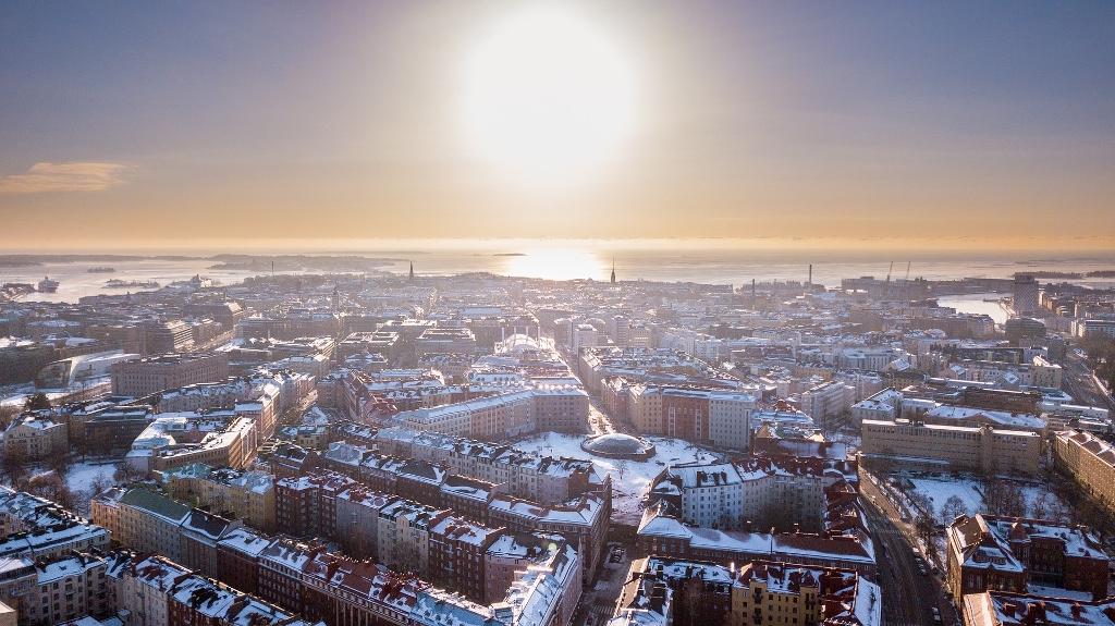 Lämpöpatteri Helsinki